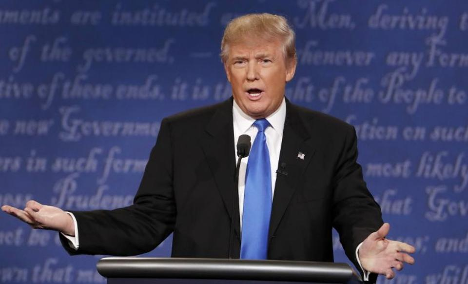 Trump characterised nuclear weapons as the single greatest threat facing the world [Reuters]