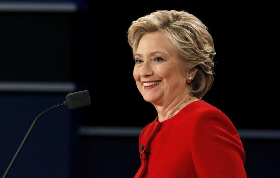 Clinton characterised Trump as a man who can be provoked by a tweet [Reuters]