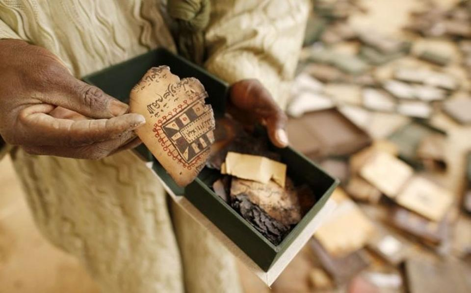 More than 95 percent of the manuscripts have been saved from destruction.