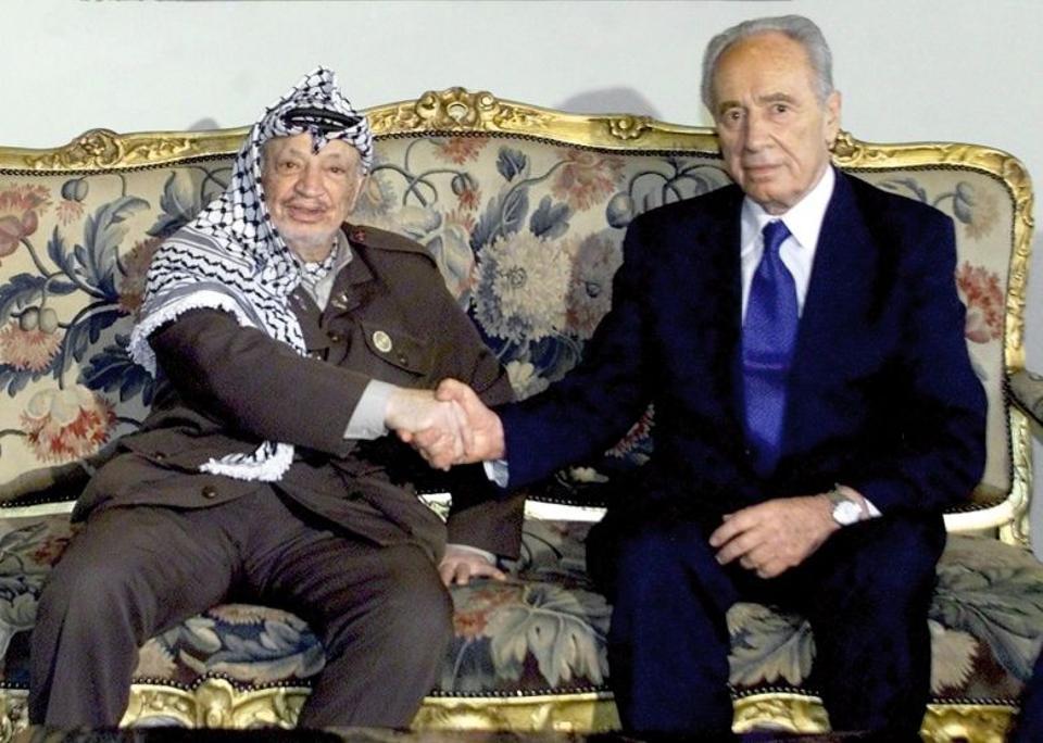 Israeli ex-president Shimon Peres dies