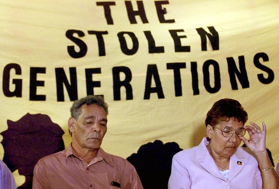 The stolen generation was a government policy in Australia in the 1960s to remove Aboriginal and Torres Islander children from their families and put them in Christian missionaries.