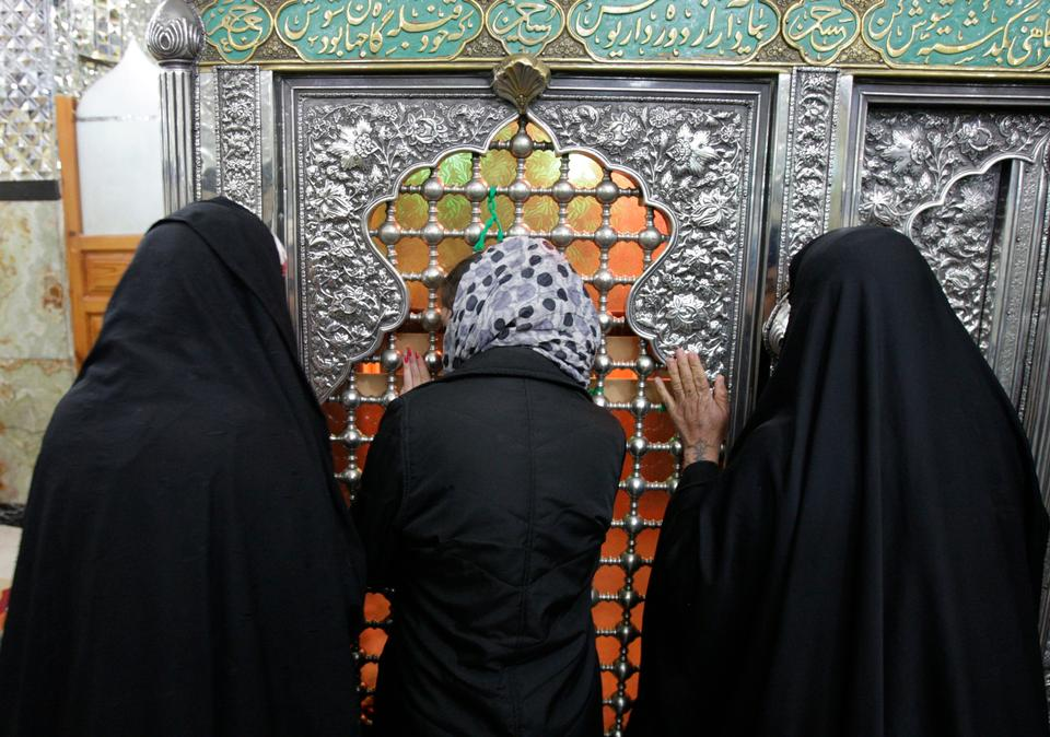 One gets to see friendships between Jewish and Muslim communities even today. In this picture taken on Thursday, February 16, 2012, a Jewish Iranian woman, center, prays between two Muslim women at the tomb of biblical prophet Daniel, in the city of Susa, some 450 miles (750 km) southwest of the capital Tehran, Iran.