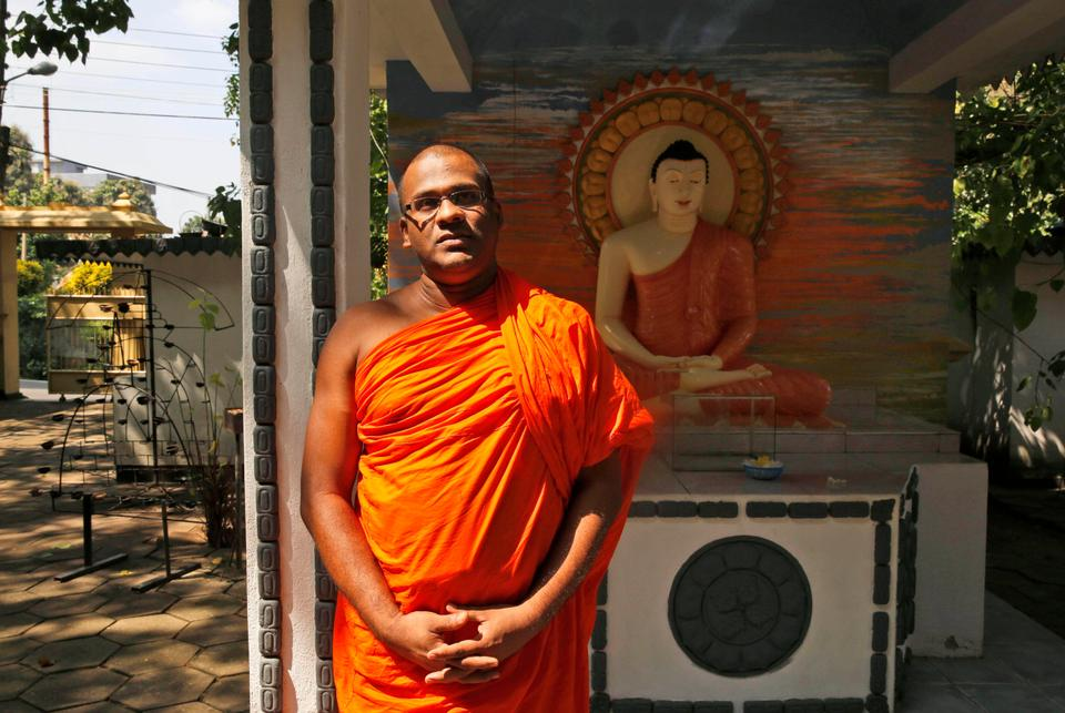 Gnanasara has close ties with sections of Sri Lanka's political establishment, in particular with members of nationalist opposition parties. This has considerably elevated his status and given him more than a veneer of respectability across large swathes of the country.