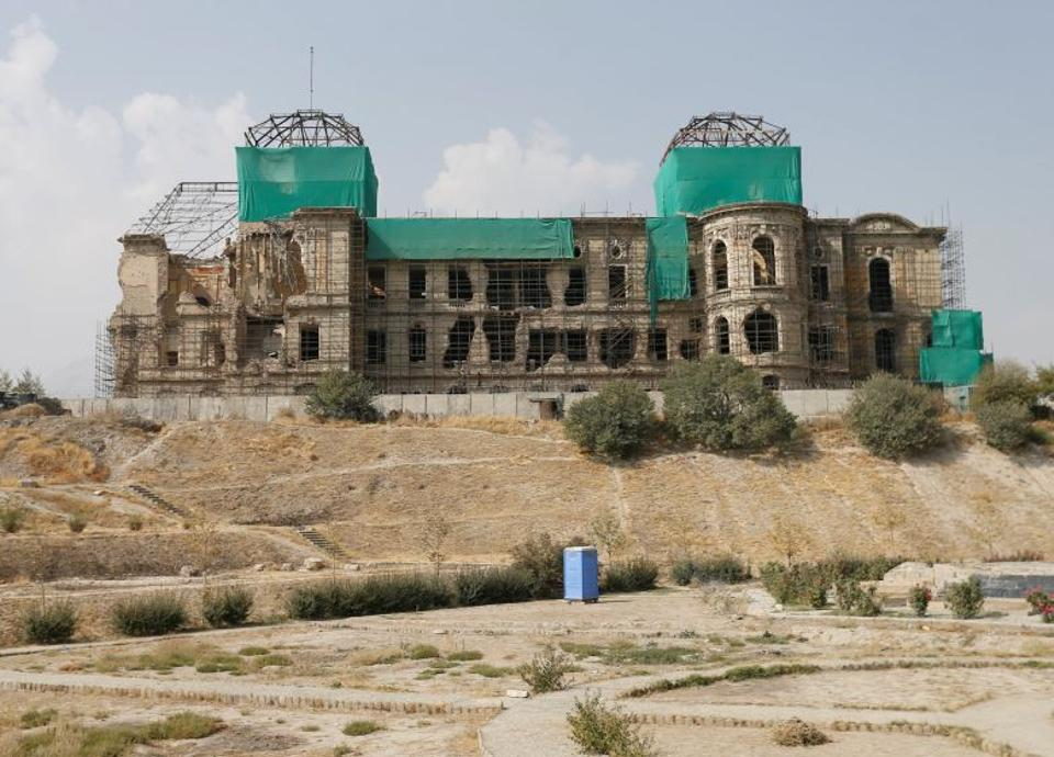 The notable Darul Aman Palace has come a long way since the start of its reconstruction in May 2016.