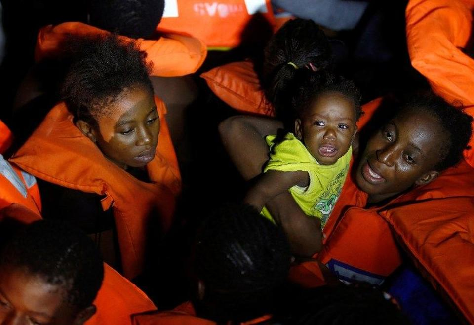 At least 62,000 children have made the journey across the Mediterranean to arrive in Greece this year. October 20, 2016. (AFP)