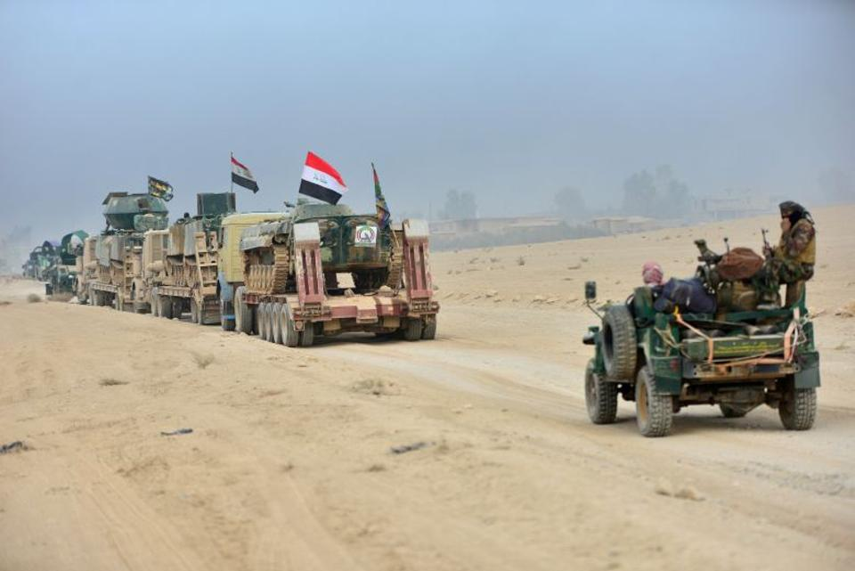 Iraqi forces make the first push into Mosul as the offensive enters its third week. (Reuters)
