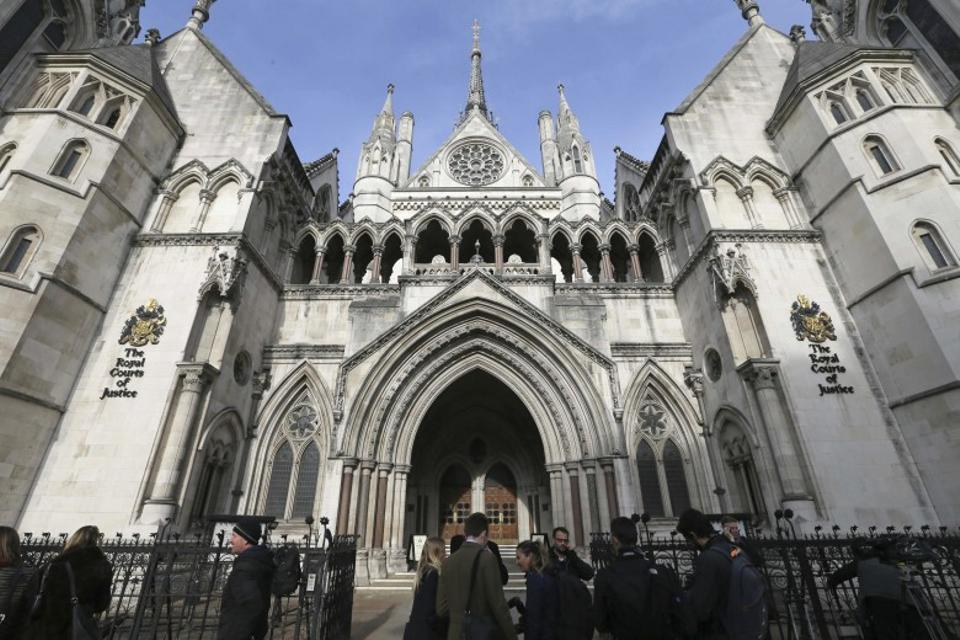 The High Court in London. (AP)