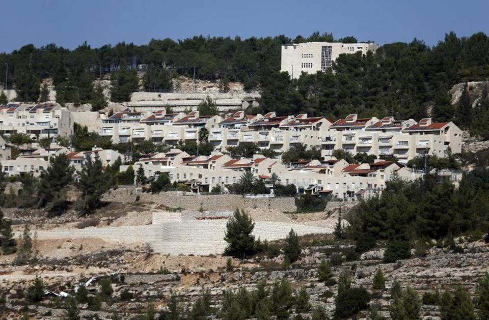 The Israeli settlement in Gilo, beyond the Green Line, is to expand by 181 new settlements. (AFP)