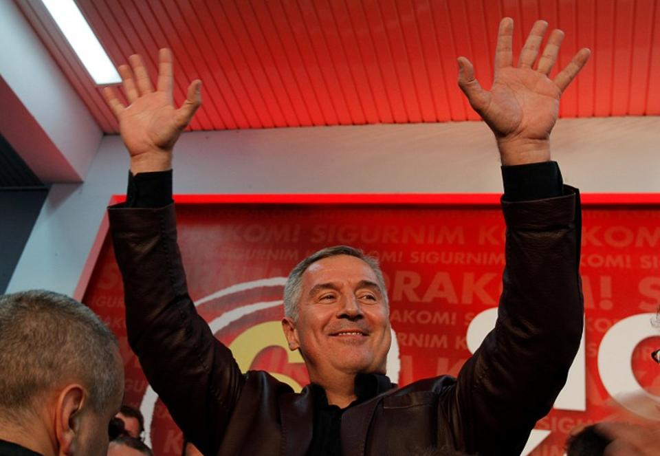Prime Minister Milo Djukanovic announced his plan to resign just ten days after his party won the parliamentary election, but he said his decision was not related to the coup plot.