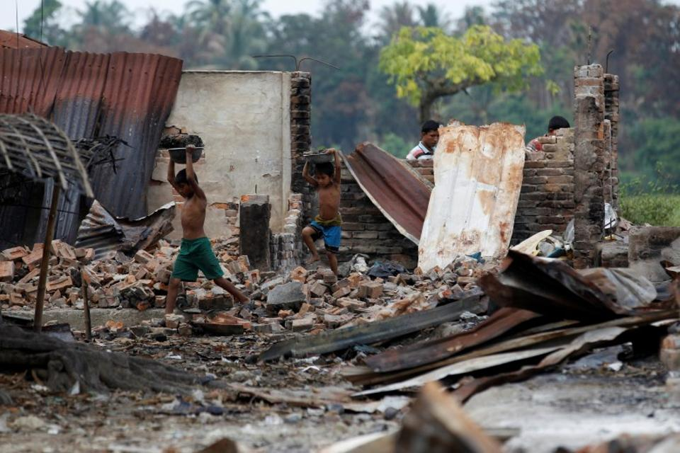Rights groups say the Muslim Rohingya community faces apartheid-like restrictions on movement and have repeatedly called on the country's de-facto leader, Aung San Suu Kyi, to carve out a solution. (Reuters)
