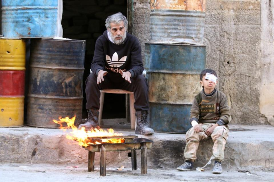 A Syrian regime offensive backed by a major aerial bombardment from late September to late October killed hundreds, according to the United Nations, and tightened the siege, leaving eastern Aleppo with little food, medicine or fuel. (Reuters)