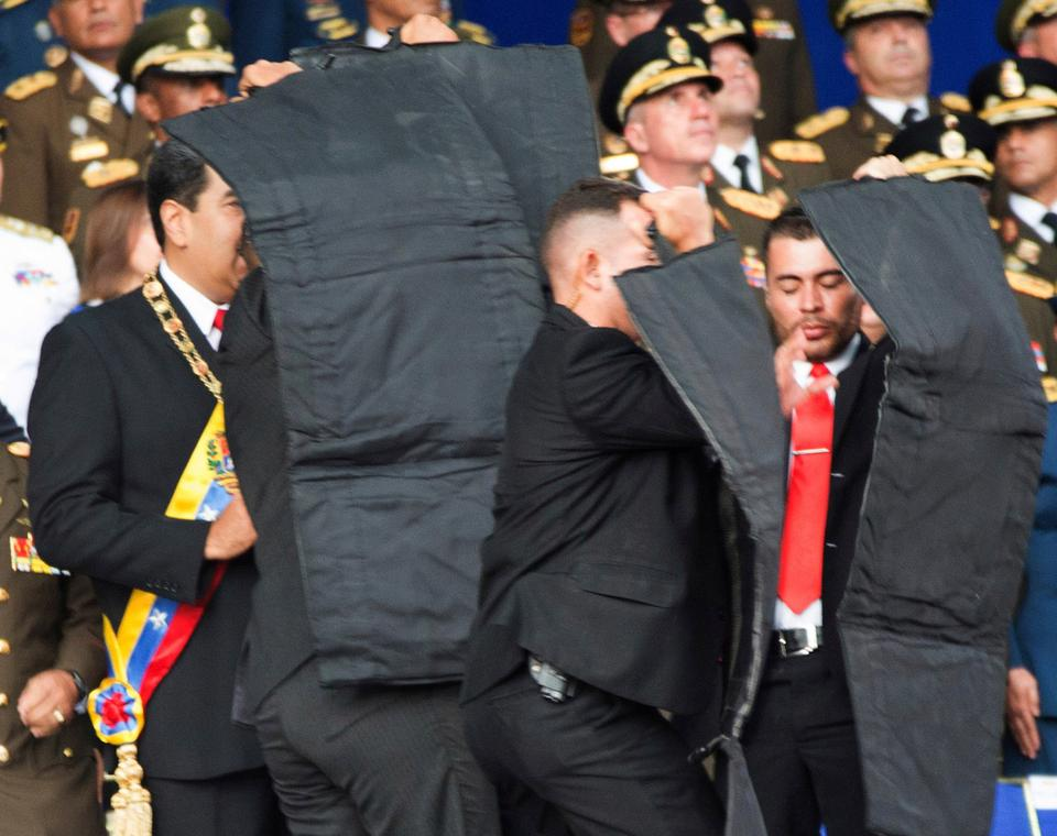 Venezuelan opposition fears the attack would be used as a pretext for a crackdown against its activists.