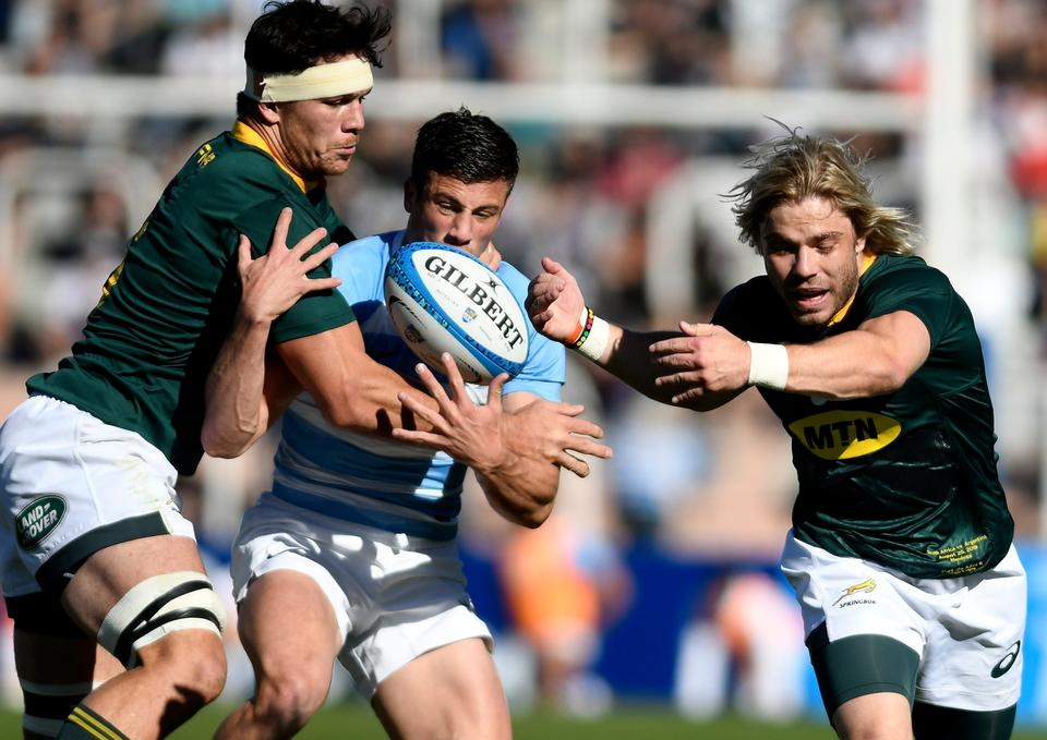 pálido codo Pompeya  Sanchez inspires Pumas to rare Rugby Championship victory over Boks