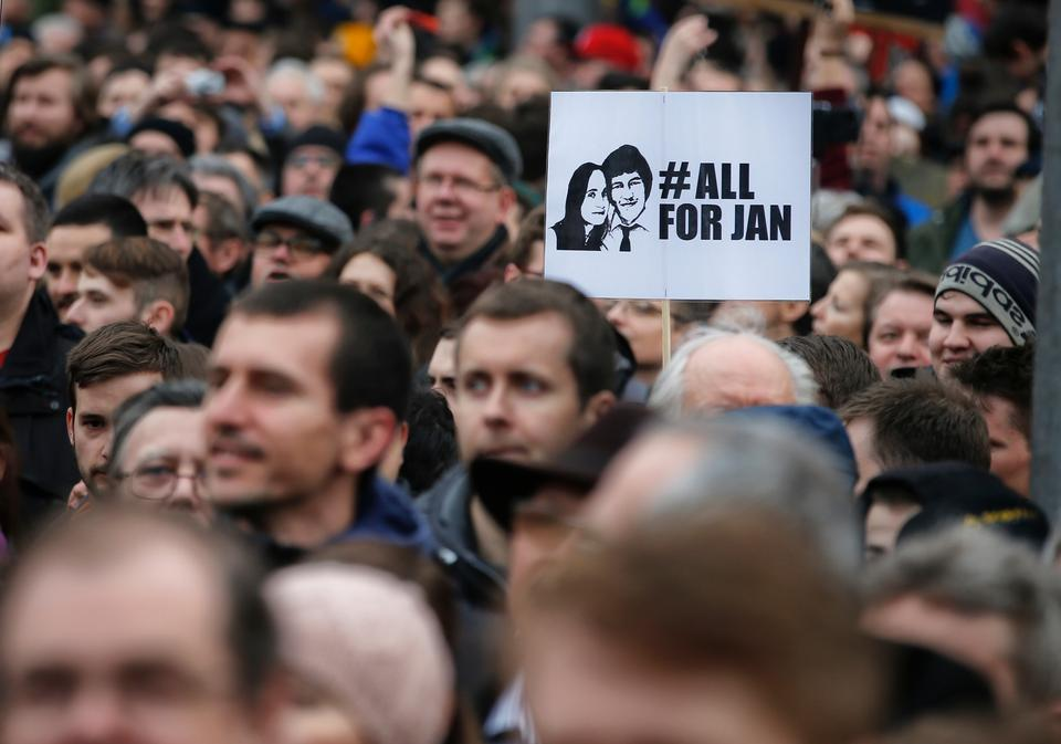 The murder of Jan Kuciak shocked the nation and stoked public anger over corruption, leading to the biggest street protests in the country since Communist rule ended in 1989.