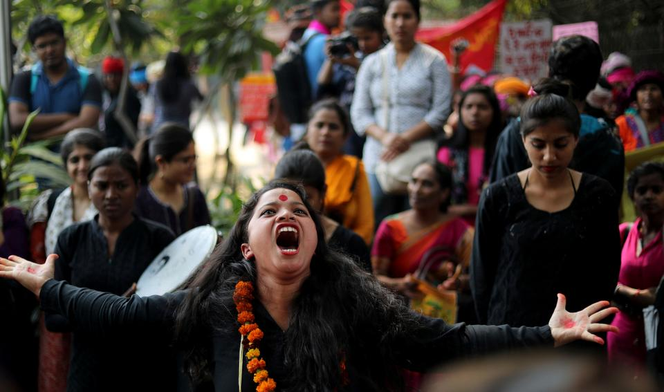 Women rights activists in India have been protesting and pushing the government for years to take steps to control domestic violence.