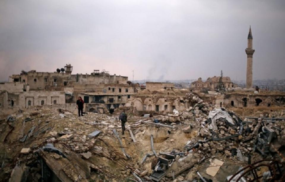 The fall of Aleppo to forces loyal to Bashar al Assad has brought Tehran closer to establishing a military arc that Iran considers key to exert influence in the Middle East. But the win has come with horrific human casualties across the region (Reuters).