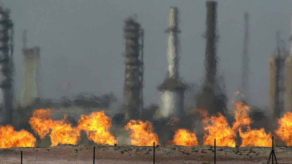 The amount of gas flared off in Iraq is enough to run most of its gas-fired power plants.