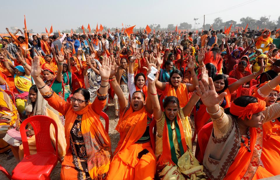 Both the BJP and VHP and their parent movement, the Rashtriya Swayamsevak Sangh, have asked the government to issue an executive order to build a temple and bypass the Supreme Court.