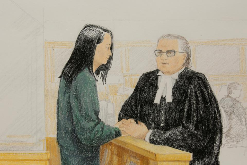 Huawei CFO Meng Wanzhou returns to Canadian court for bail.