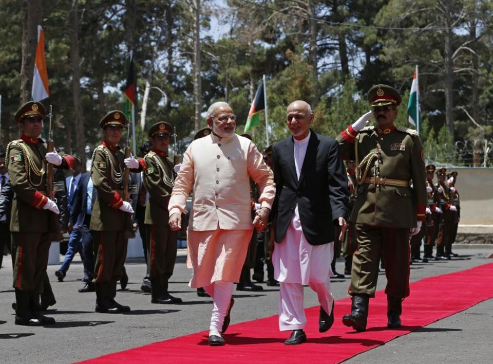 Indian Prime Minister Narendra Modi and Afghanistan President Ashraf Ghani have worked closely to alienate Pakistan diplomatically, experts say. They point to the the boycott of the South Asian Association for Regional Cooperation in Pakistan as one such instance. (AP)