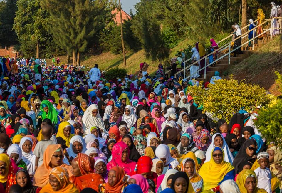 Rwanda Muslims celebrate Eid al-Fitr also known as Feast of Breaking the Fast festival, which marks the end of the fasting month of Ramadan, 17 July, 2015.