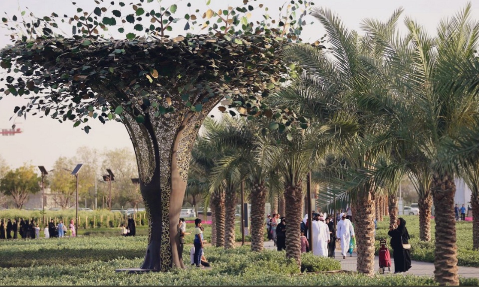 In pictures: Pakistan's 'Quranic garden' inspired by Islam's holy text