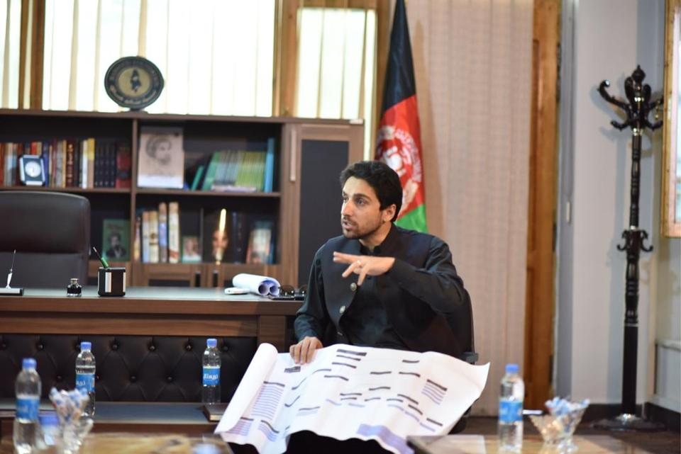 Ahmad Massoud, the son of famed Afghan commander, Ahmad Shah Massoud, currently leads the National Resistance Forces that have refused to surrender to the Taliban.