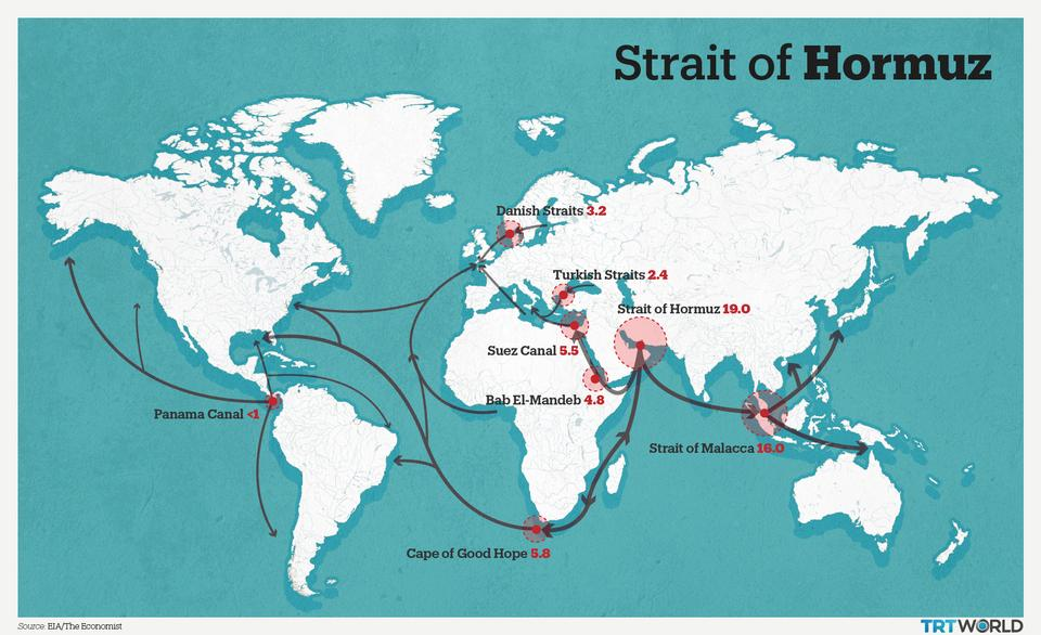 straits of the world map What Makes Strait Of Hormuz A Maritime Flashpoint
