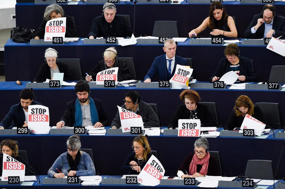 Criticism of ISDS has increased in recent years and some EU parliamentarians say the system must be revamped.