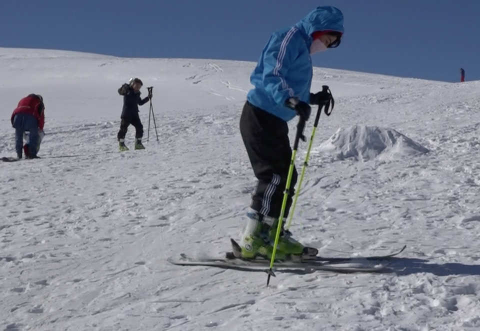 Bamyan lacks man-made ski turfs, huts, lifts and gondolas. Yet the athletes are determined to trek up to high mountains and descend with great speed.