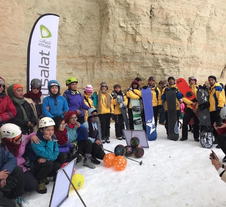 New to the sports, these athletes started training with self-made skis and snowboards. But now they have the right gear to practise professionally and aim to compete in international games.