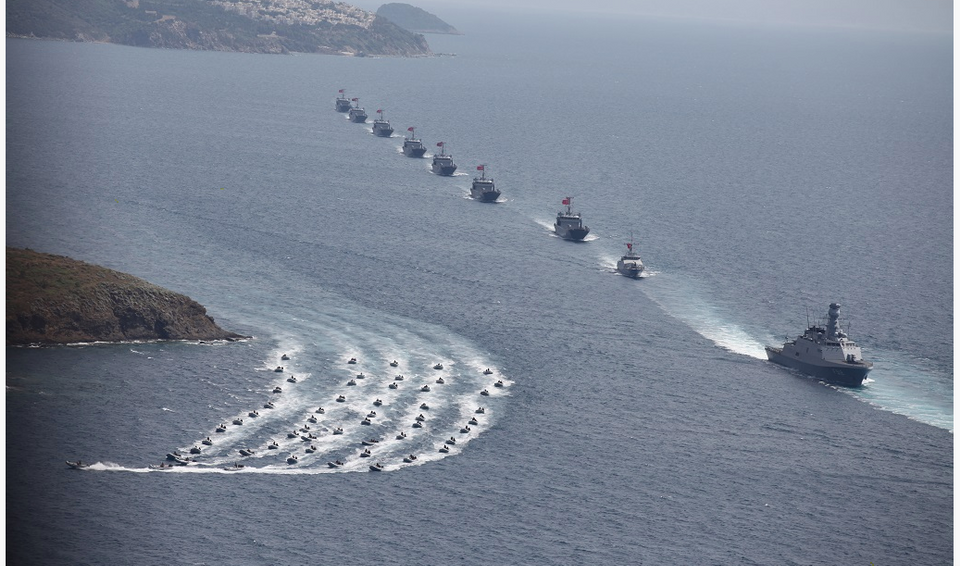 Protectors of Turkey's Blue Homeland, the country's new naval doctrine.