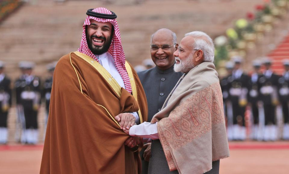 Investments in India have pushed the Saudi leadership closer to New Delhi in recent years.