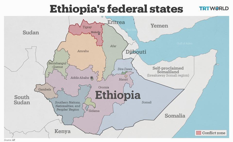 Ethiopia plans to use 'tanks and artillery' to take Tigray's Mekelle