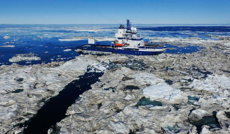 """""""Do we want the Arctic Ocean to transform into a new South China Sea, fraught with militarization and competing territorial claims? China's pattern of aggressive behaviour elsewhere will inform how it treats the Arctic,"""" said US Secretary of State Mike Pompeo last year."""