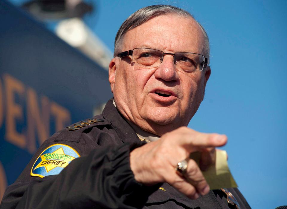 Maricopa County Sheriff Joe Arpaio announces newly launched program aimed at providing security around schools in Anthem, Arizona, US  on January 9, 2013. (REUTERS )